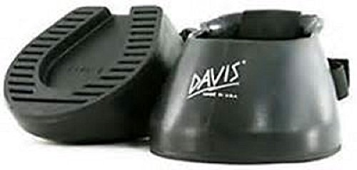 Davis Barrier Boot Hoof Protection Trail Boot Rubber Black Horse Equine (#3)