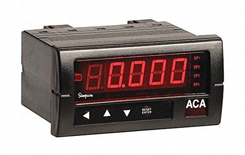 Digital Panel Meter, AC Voltage, 600 VAC (Simpson Meter Digital Panel)