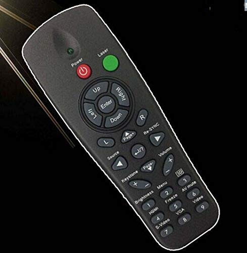 Calvas Projector remote control for Optoma EW766W EX521 EX531 TX761 TX763 TX7155 controller with laser