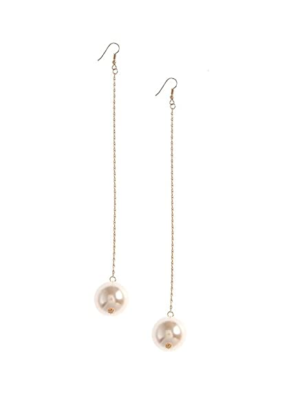 earrings claire long pearl s drop