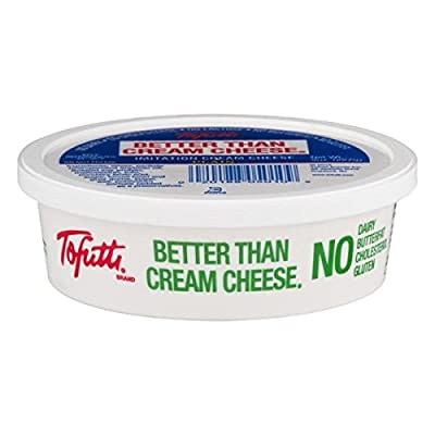 Tofutti Better Than Cream Cheese, 8 Ounce (Pack of 12)