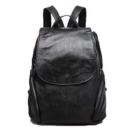Calfskin Shoulder Bag - DEGDAI Backpack Women's Shoulder Bag Shoulder Strap Shoulder Bag Calfskin Youth Backpack 403316cm