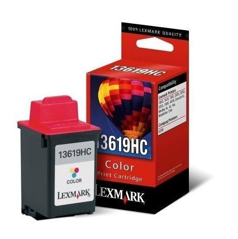 - Lexmark Color Ink Cartridge, 200 Yield (13619HC)