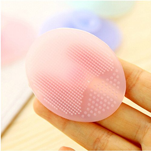 Cleaning Pad Wash Face Facial Exfoliating Brush SPA Skin Scrub Cleanser Tool - Bass Shoe Care
