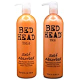 2 Pack Bed Head Self Absorbed Shampoo And Conditioner 25.36 Oz Bundle