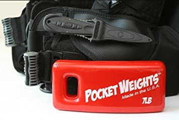 Pocket Weights BCD Scuba Weights Pairs