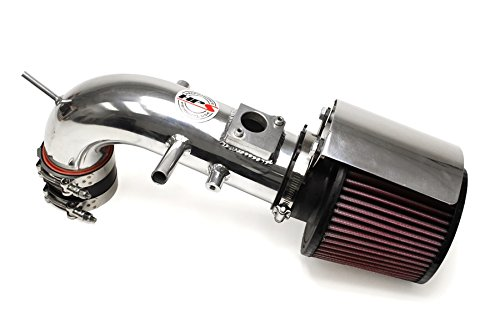 HPS 27-524P Polish Short Ram Air Intake Kit with Heat Shield (Non-CARB Compliant)