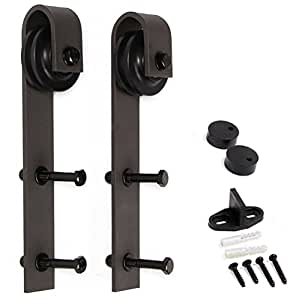 U-MAX Sliding Barn Door Hardware Basic Hangers 2pcs