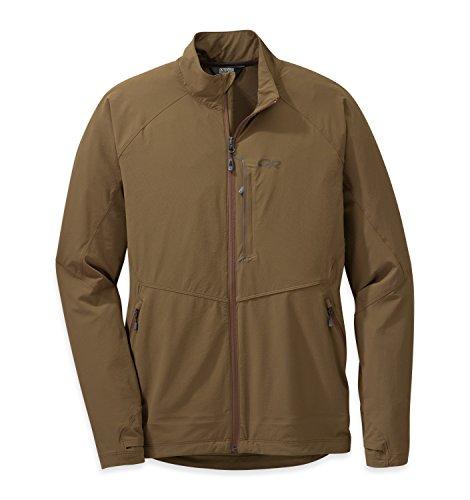 Outdoor Research Men's Ferrosi Jacket, Coyote, Medium
