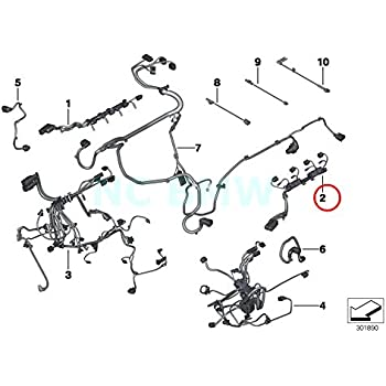 Amazon Com Bmw Genuine Injector Module Engine Wiring Harness