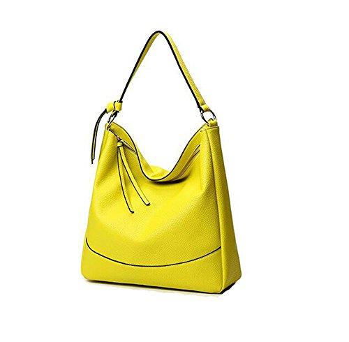 Anne - Bolso al hombro de Material Sintético para mujer negro amarillo amarillo