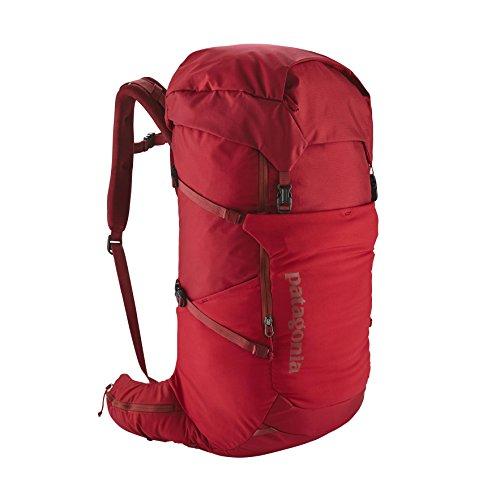 Patagonia Unisex-Erwachsene Nine Trails Pack 36l Rucksack, Blau (Viking Blue), 36x24x45 centimeters Rot (Classic Red)