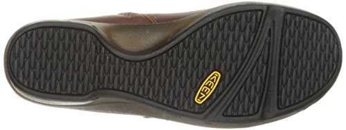 Keen Womens Mora Mid Button Shoe, Barley, 5.5 M US