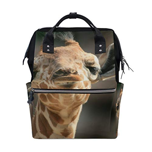 Price comparison product image Backpack Cute Giraffe Mens Laptop Backpacks Hiking Bag School Daypack