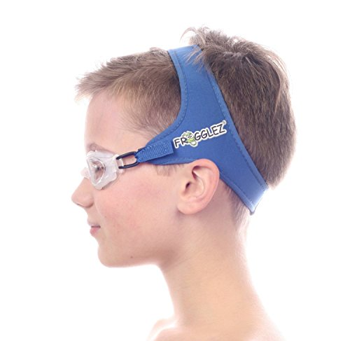 Frogglez Goggles for Kids- Comfortable Neoprene Adjustable Strap Designed Not to Pull...