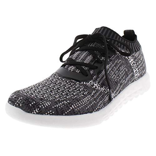 ALDO Women's MX.2B Sneaker, Black/Multi, 7 B US