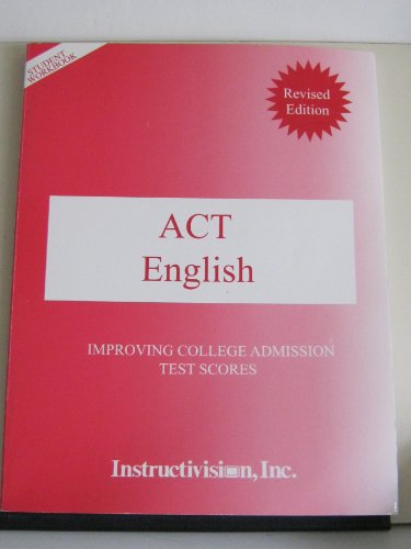 Act English: Improving College Admission Test Scores
