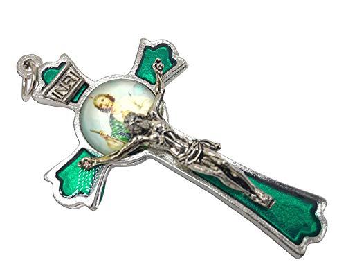 (hand made St Jude Cross Medal Crucifix 3