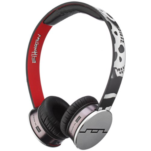 SOL REPUBLIC 1241-ELT TRACKS HD Over Ear Headphones ERIK ELLINGTON V10 Sound Engine (V8 Sol Headphones Republic Tracks)