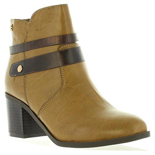 Xti Boots Para Mujer 46221 C Taupe