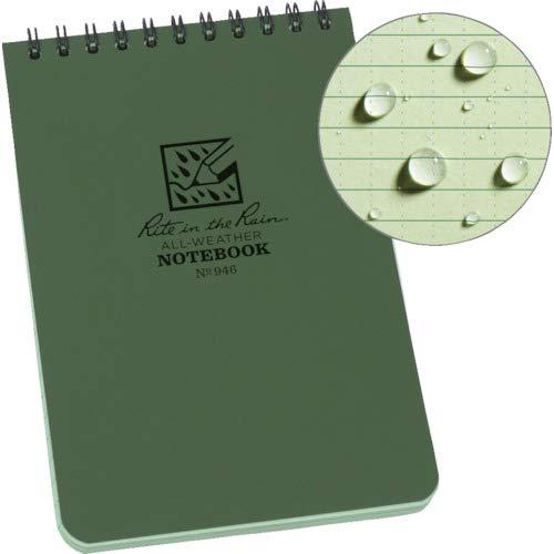 Amazon.com: Rite in the Rain - Cuaderno de espiral superior ...