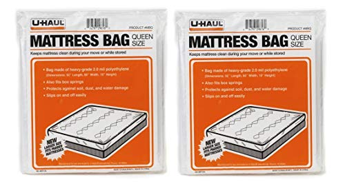 U-Haul Uhaul Mattress Bag Protector Queen Size 92 x, used for sale  Delivered anywhere in USA