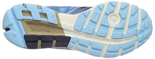 Reebok One Cushion 2.0 City Lights - Zapatillas de running de material sintético para hombre Azul (fauxindigo/batikblu/blpool/crl/pprwht/wlnt-pr)