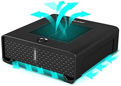 MEI XU Purificador de Aire del Coche, Limpiador portátil USB del ...