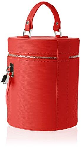 Borse red 8638 Rosso Chicca Cm 20x24x20 Spalla Borsa w Donna L A X H Z6OOBdxwn