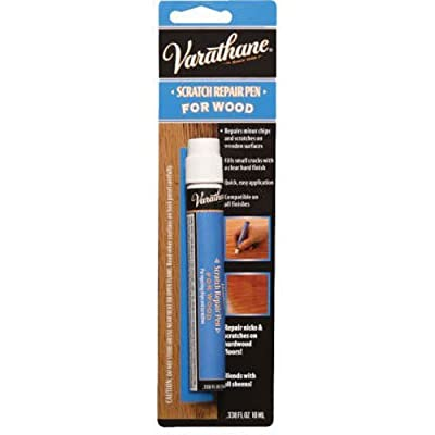 Rust-Oleum Varathane 248125 Clear Scratch and Repair Polyurethane Floor Finish Pen