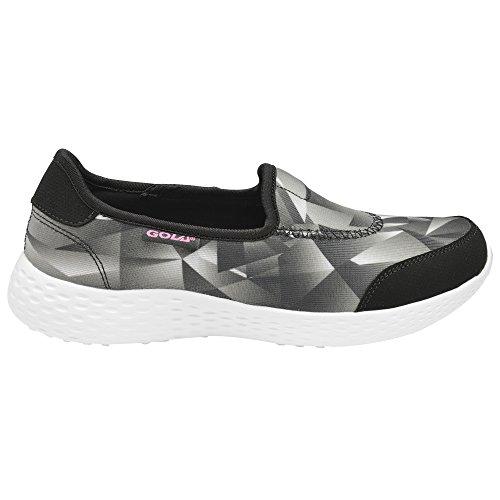 Gola Sport Womens/Ladies Active San Luis Lightweight Training Shoes Black/White aVCr2yHnxc