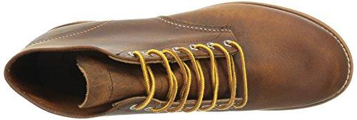 Red Wing Shoes - Zapatos de cordones de cuero para hombre Copper