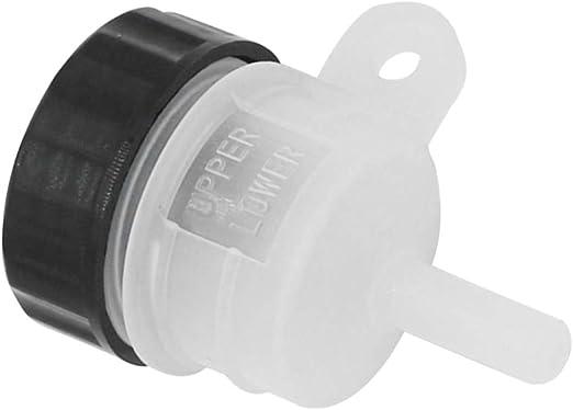 Universal Plastic Foot Rear Brake Master Cylinder Tank Oil Cup for Kawasaki