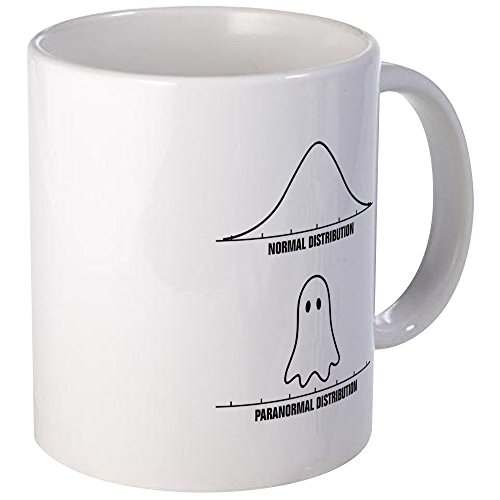 CafePress - Normal Vs Paranormal Distribution Mugs - Unique Coffee Mug, Coffee Cup by CafePress
