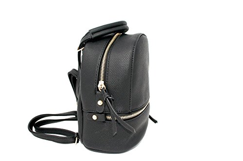 for or Styles Girls Backpack Black Bag Leather AJ113 Women Mini Fashion Various Casual qF0vXn