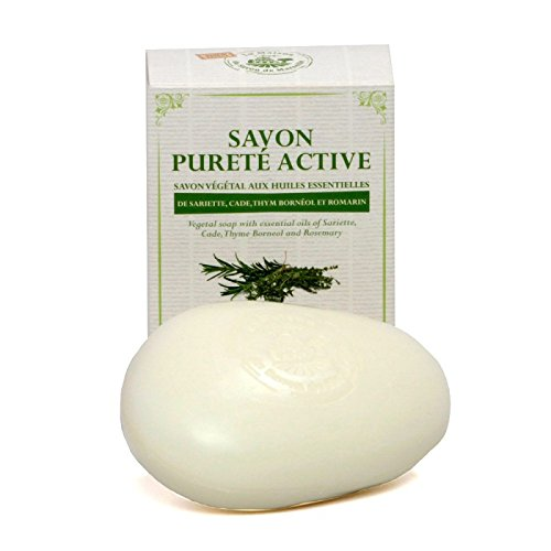 Soap with essential oils, Pureté active 150 g - Maison du Savon de Marseille (Oil Purete)