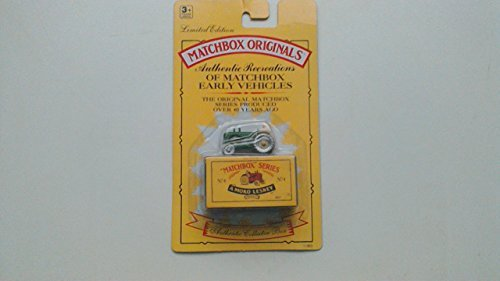1993 Matchbox Originals Limited Edition Collectors' Series I 1:72 Scale Diecast Vehicle with Authentic Collector Box: Horse-Drawn Milk Float No.7