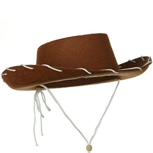 Novelty Giant Children's Western Woody Style Kids Cowboy Ranch Hat -