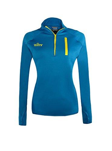 Escape 1/4 Zip (Womens Polyester Anti-Pilling Micro Fleece 1/4 Zip Escape Pullover Blue Medium)