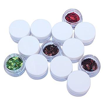 Vacío botellas de plástico 100 pcs/Pack pigmento cosméticos uñas Gel comida Liquid Eyeliner Lip