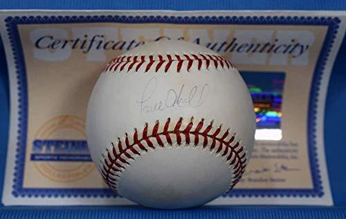 Paul Oneill Hand Signed - PAUL O`NEILL Steiner Autograph Major League OML Hand Signed Baseball
