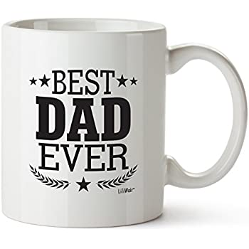 Christmas Dad Gifts For Black Friday Cyber Monday Best Dad Ever Mug Birthday Greatest New American Gift Step-Dad Funny Cool Super Amazing Funny Happy Great Gag Prime From Daughter Xmas Cheap Cool Mugs