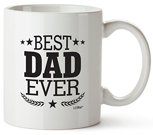 Fathers Day Gift Dad Gifts Fathers Day Best Dad Ever Mug Birthday Greatest New American Gift Step-Dad Funny Cool Super Amazing Funny Happy Great Gag Prime From Daughter Xmas Cheap Cool Mugs