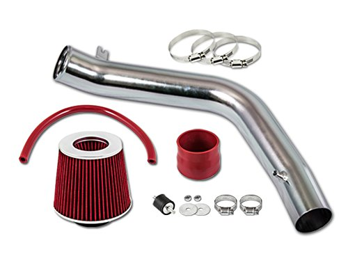R&L Racing Red COLD AIR INTAKE KIT + FILTER 2004-2008 For Acura TL Base/Type S Model with 3.2L 3.5L V6 Engine ()