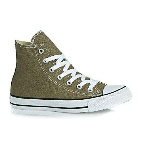 Converse All Star Hi Seasonal - Zapatillas abotinadas Unisex adulto Caqui