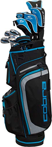 Cobra 2018 XL Complete Set Black-Capri Blue (Women's, Right Hand, Graphite, Ladies Flex)