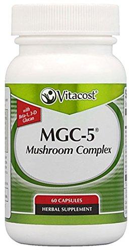 Vitacost MGC-5 Mushroom Complex (with beta-1, 3-D Glucan) -- 60 Capsules