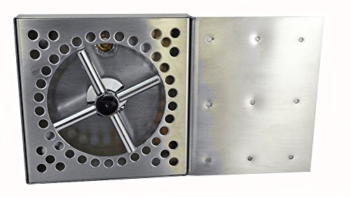 Bev Rite CDT66RF Glass Rinser Beer Drip Tray Assembly With Side Mount Flange, Stainless Steel