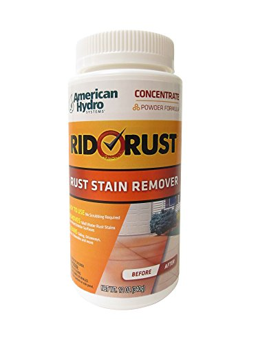 Price comparison product image American Hydro Systems 2653 Rid O' Rust Powdered Rust Stain Remover, 12-Ounce, 6-Pack