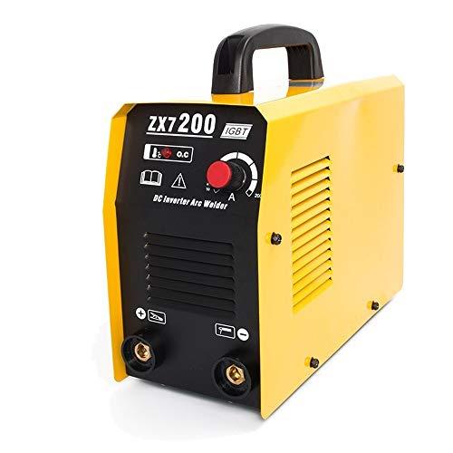 (TOSENBA ARC Welder Stick Welding Machine Small Mini 220V 200A 3.2-4.0MM Rod Portable DC Inverter IGBT ZX7-200)